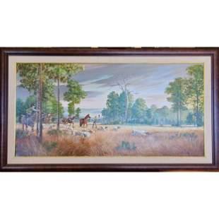 LG Original Highwayman Robert Butler Landscape 1943-114