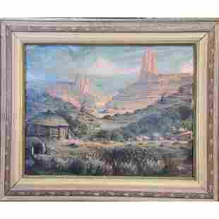 Eugene Goncz MORNING California landscape painting