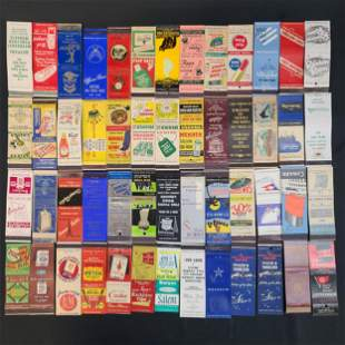 Collection of Vintage Match Books 52