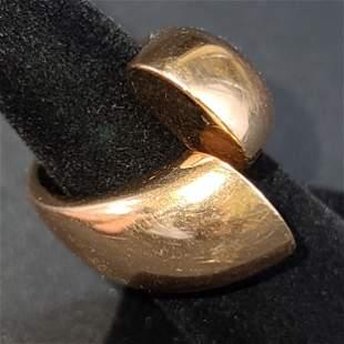 Men's 18K Gold Ring 28 Grams