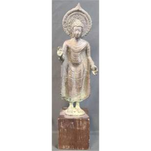 A Very Early Antique Bronze Khmer