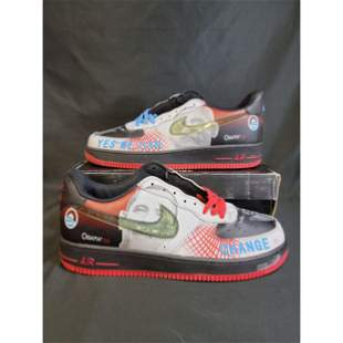 Nike Sneaker OBAMA 08 Air Force 1 YES WE CAN