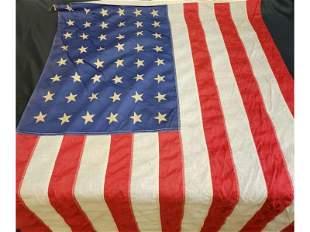 Vintage American Flag 48 States