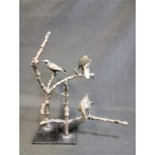 New York New Mexico Peter Woytuk Bird Sculpture #5 Of 8