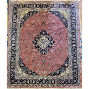 A Fine Large Antique Persian Isfahan Rug