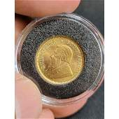 1984 South African Gold Rand MINT