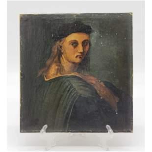 Antique Portrait Painting Of Bindo Altoviti