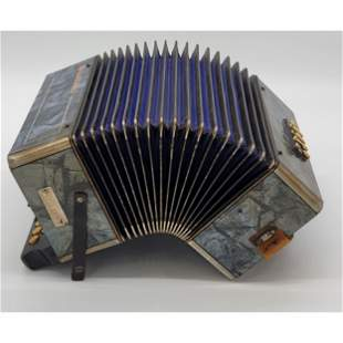 A Nice Antique Accordion Sounds Great