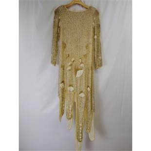 Vintage Chinese Silk, Chloe Silk designer dress
