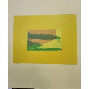Howard Eliot Hodgkin (1932-2017)  India View 1971