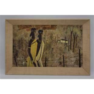 Bhagwan Kapoor 20th C India  Landscape Painting