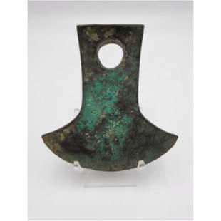 Ancient Bronze Axe Head