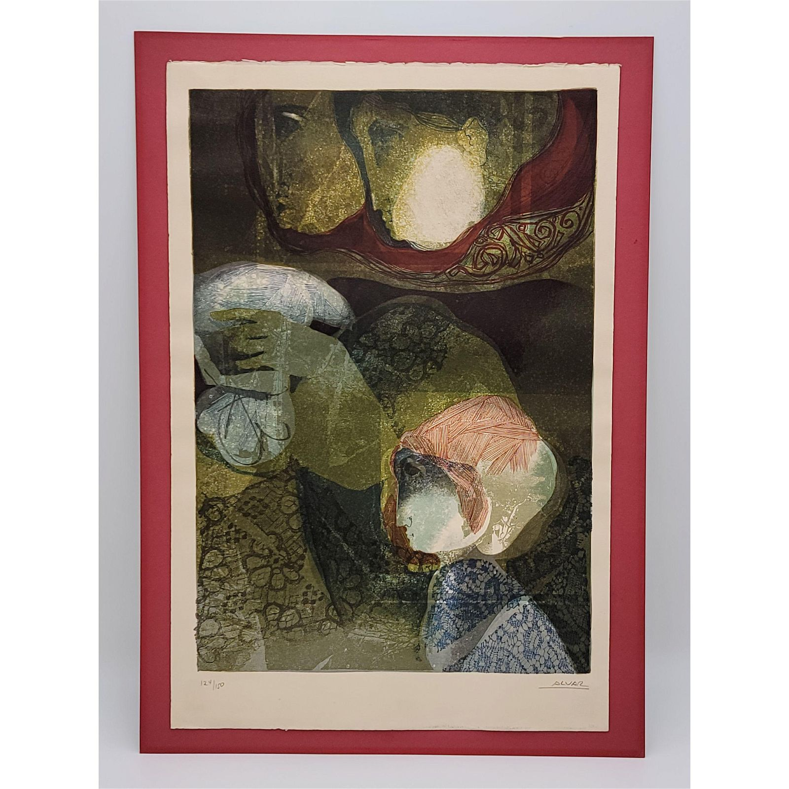 Sunol Alvar Limited Edition Lithograph Signed 124/150