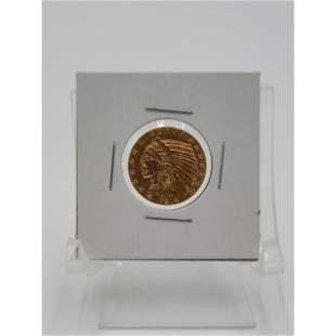 1914 Five Dollar Gold Coin INDIAN HEAD