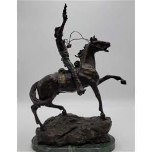 Carl Kauba 1865-1922 Austria  Bronze Horse Sculpture