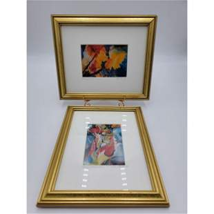 2 Signed And Numbered Lithographs By ATELIER  SHuLEU