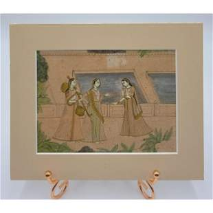 19th Century Deccani School India Painting