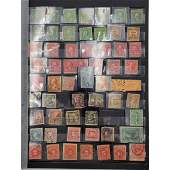 Large Grouping Of Antique US Stamps Plus Some Foreign