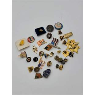 Large Grouping Of Various Vintage Cuff Links