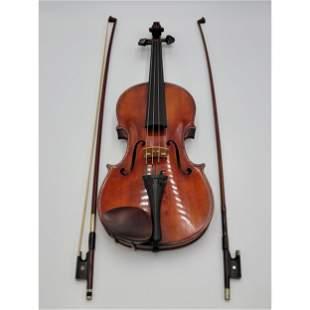 RARE Gennaro De Luccia 1931 Violin With Label & Apprais