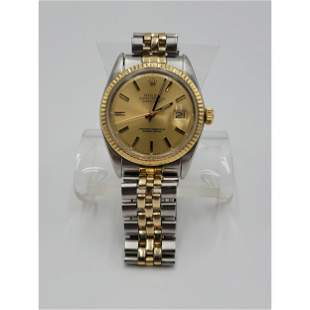 """Date Adjust Oyster Perpetual Rolex Watch """"Chronometer"""""""