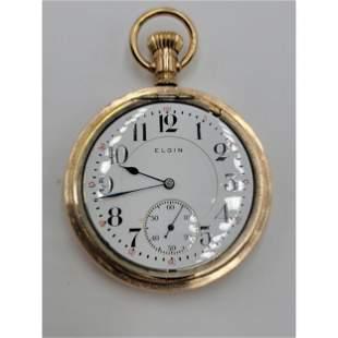 Vintage Elgin Pocket Watch FATHER TIME