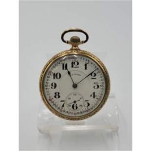 Vintage Illinois Springfield Co Pocket Watch