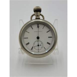 Vintage Illinois Springfield Co Pocket Watch