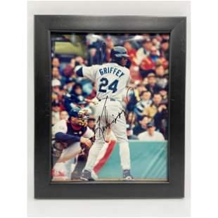 Authentic Ken Griffey Jr Seattle Mariners Autograph w/