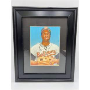 Baltimore Orioles Frank Robinson Autograph w/ COA