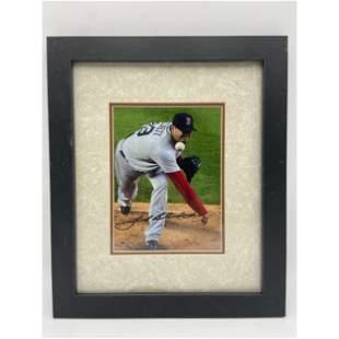 Vintage Josh Beckett Boston Red Sox Autograph with COA