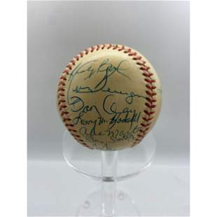 Signed 1983 St. Louis Cardinals Signed Team Baseball