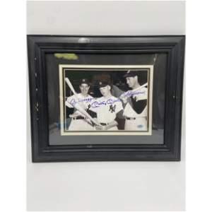 Mickey Mantle, Joe Dimaggio & Ted Williams Autographed