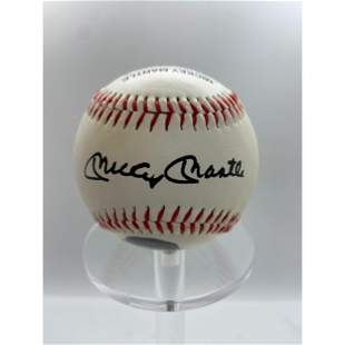 Mickey Mantle NYY Limited Edition Collectors Baseball