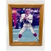 Vintage NFL Jim Kelly Buffalo Bills Autographed Photo W