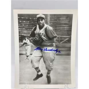 VINTAGE MLB HALL OF FAMER RAY DANDRIDGE AUTOGRAPHED PHO