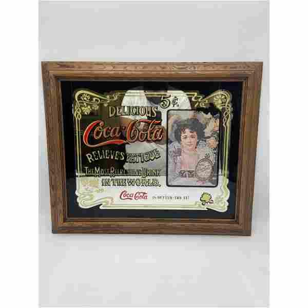 Vintage Coca-Cola Relieves Fatigue Delicious 5c Mirror