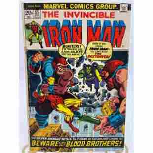 Marvel Comics The Invincible Iron Man No. 55 Comic Book