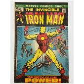 Vintage Marvel Comics The Invincible IRONMAN #47