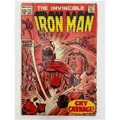 Vintage Marvel Comics The Invincible IRONMAN #13