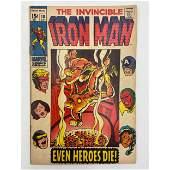VINTAGE THE INVINCIBLE IRON MAN #18 (MARVEL COMICS)