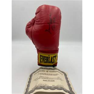 Muhammad Ali Autographed Boxing Glove With COA