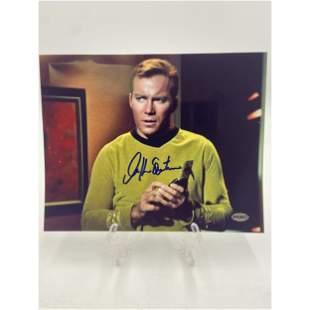 William Shatner / Captain Kirk Star Trek Autograph COA