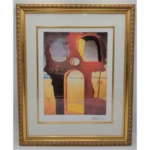 Salvador Dali 1904-89 Lithograph Signed COA