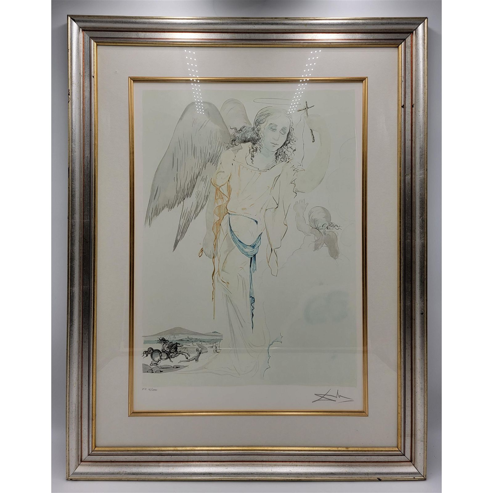 Salvador Dali 1904-89 Lithograph Signed