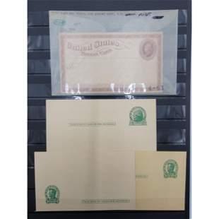 US Postal Card Lot Of 8 RARE VX1 1873