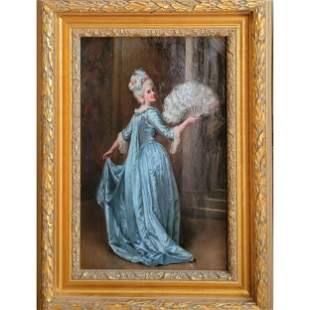 Jennie Augusta Brownscombe 1850-1936 NEW YORK Painting