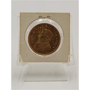 1978 1 Oz Fine Gold Coin KRUGERRAND