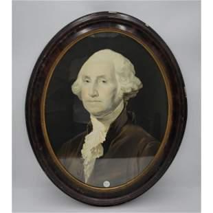 Antique George Washington Lithograph 19th C