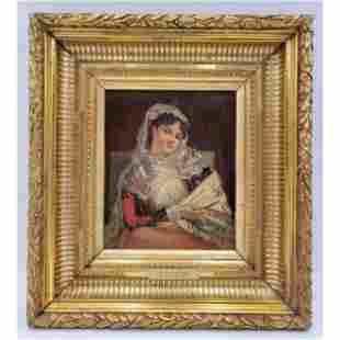 Konstantin Makovsky, Painting, Portrait of a Lady